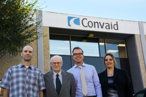 convaid executive team 2015