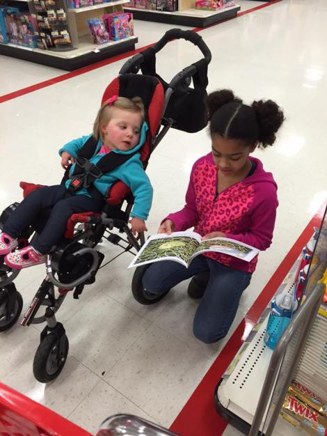 cuzzie reading to kyla march 2016